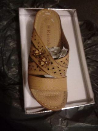 Zapato acolchado mujer