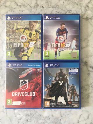 Pack Videojuegos PS4