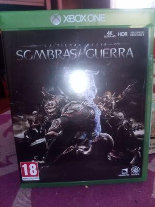juego Xbox one Sombras de Guerra
