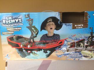 Barco pirata -acuario
