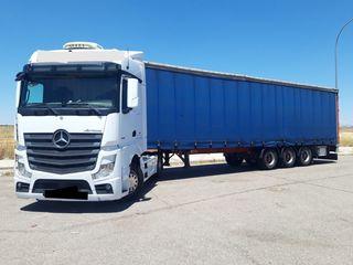 Camión+Semirremolque+Tarjeta de Transporte