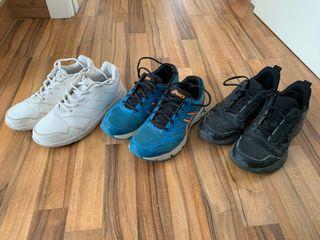 Zapatillas deportivas Adidas y Asics para niño