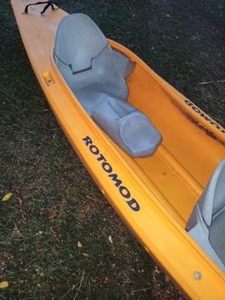 Kayak rígido Rotomod 2+1