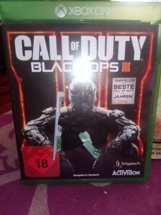 juego Xbox one call of duty black OPS III