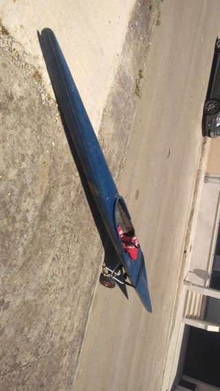 piragua K1, kayak