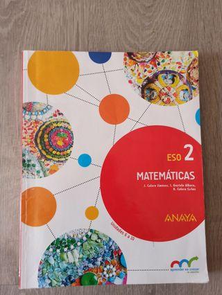 Libros matemáticas segundo ESO