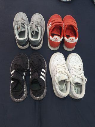Zapatillas de niño o niña talla 33