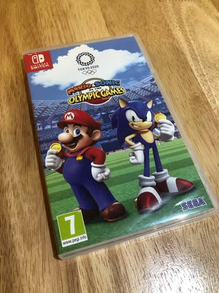 Nintendo Switch Game Mario and Sonic Olympic