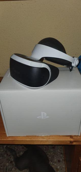 PlayStation VR igual que NEVAS con juego.