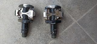 pedales Shimano automáticos m-505