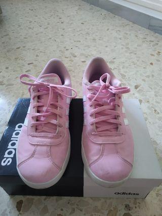 Tenis rosas adidas