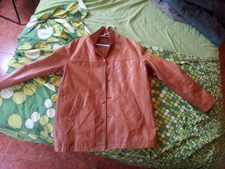 chaqueta de Cuero talle L