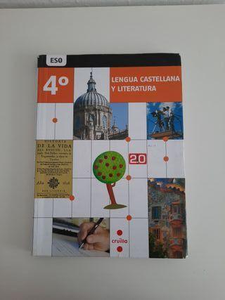 libro de castellano 4 eso