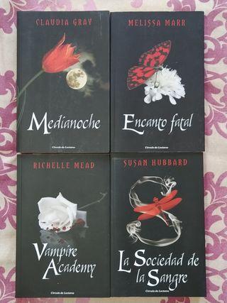 Libros fantasía juvenil