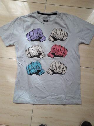 Camiseta hombre Zara talla M