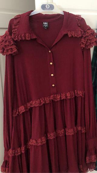 vestido guts and love talla s