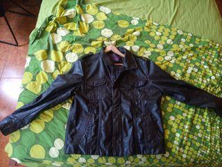chaqueta de cuero zara