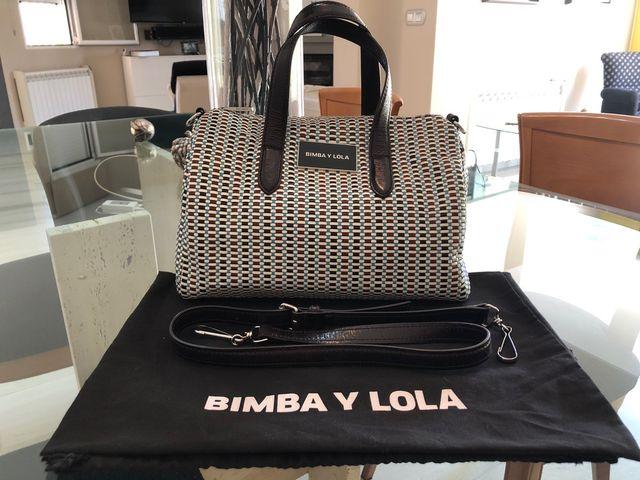 Bimba y Lola bolso bowling trenzado