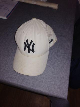 gorra Yankees blanca