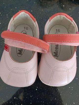 zapatillas de bebé/zapatos de bebé/niña
