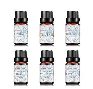 Essential Oils Set, Top 6 Aromatherapy Oils Lavend