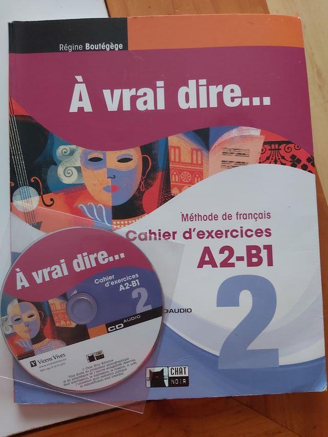Libro de ejercicios frances A2-B1