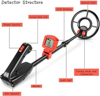 Detector de metales el detector de metales ligero
