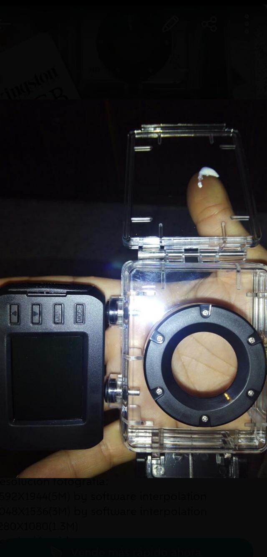 Video-Camara deportiva EXTREME PRO + Micro SD 8GB