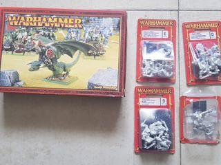 Lote Orcos y Goblins Warhammer (nuevos)