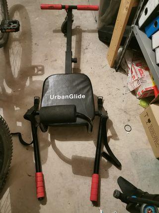 Vendo hoverboard + 2 sillas kart