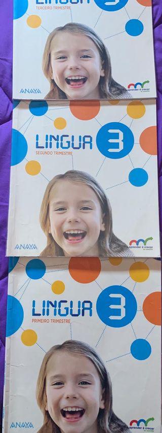 Libro gallego , 3 de primaria