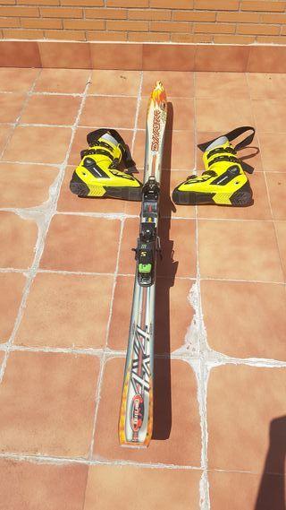 Botas 44/45 y esquís Rossignol
