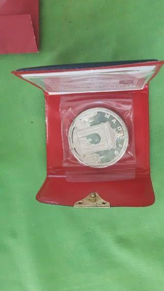 Moneda San Isidro Labrador, plata fina
