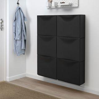 Trones Zapatero Ikea negro