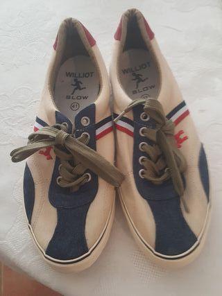 zapatillas willot tipo Ganso