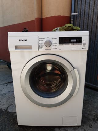 lavadora Siemens 8 kg IQ500