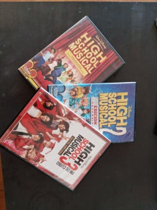 HIGH SCHOOL MUSICAL COLECCION COMPLETA