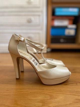 Tacones Zapatos Novia talla 36 Maribel