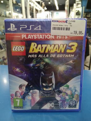 Lego Batman 3 PS4 más allá de Gotham