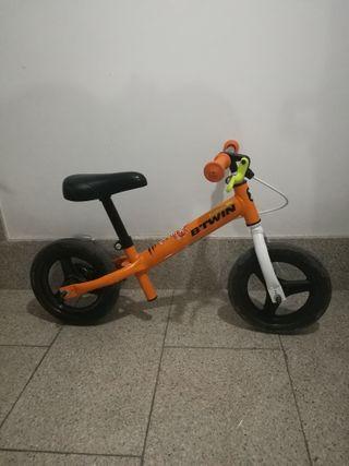 Bicicleta infantil para 2-4 años sin pedales