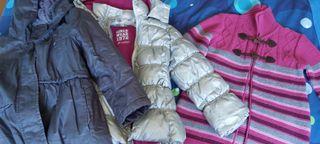 abrigos de 5 a 6 años lote