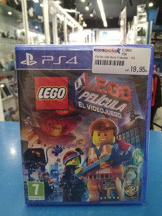 Lego la película el videojuego ps4