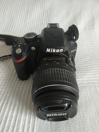 Cámara foto Reflex Nikon D3200