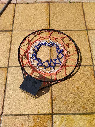 Aro bàsquet amb xarxa