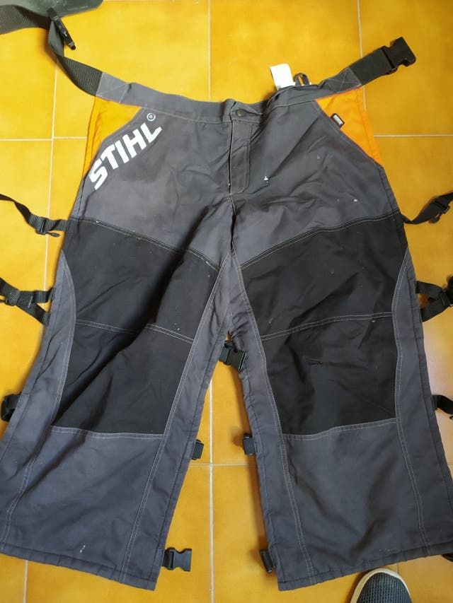 pantalon anticorte motosierra marca Stihl