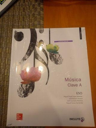Libro Música Segundo Eso