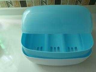 Esterilizador de biberones microondas