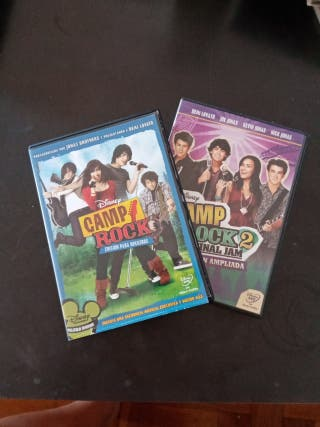 CAMP ROCK COLECCION COMPLETA