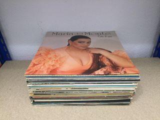 Lote de 39 discos de vinilos