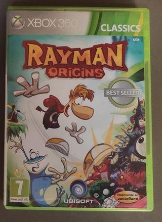 Juego XBOX 360: Rayman Origins